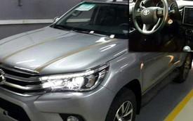 Toyota Hilux 2016 có thể về Việt Nam lần đầu lộ nội thất