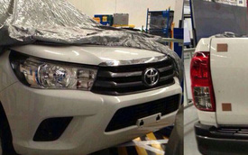 """""""Ảnh nóng"""" đầu tiên của xe bán tải Toyota Hilux 2016"""