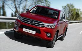 Toyota công bố Hilux 2016 phiên bản châu Âu