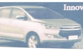 """Toyota Innova 2016 lần đầu tiên lộ """"ảnh nóng"""""""