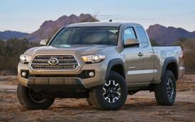Xe bán tải Toyota Tacoma 2016 đã có giá bán