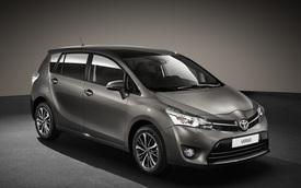 Xe đa dụng Toyota Verso 2016 an toàn hơn
