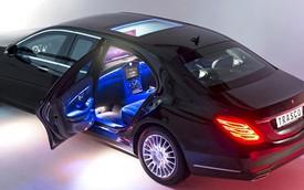 Trasco S-Class W222 – Xe limousine bọc thép cho nhà giàu mê Apple
