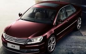 Xe sang cỡ lớn Volkswagen Phaeton bước sang phiên bản mới