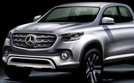"""Mercedes-Benz phát triển xe bán tải """"nội thất giặt thoải mái"""" từ Nissan Navara"""