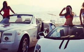 Choáng ngợp với thú chơi xe xa xỉ của các tiểu thư Dubai