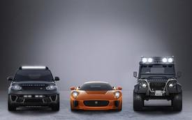 """Ba xe """"khủng"""" mới của """"Điệp Viên 007"""" góp vui cho triển lãm Frankfurt"""