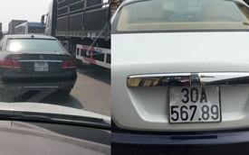 "Bắt gặp Mercedes-Benz E400 đeo biển ""khủng"" giống Rolls-Royce Wraith"