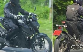 Bắt gặp xe naked bike mới của Yamaha trên đường thử, có thể là MT-15