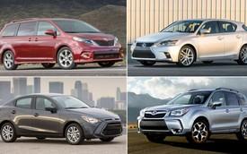 11 mẫu xe hơi vừa an toàn vừa hợp túi tiền