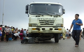Hà Nội: Người phụ nữ tử vong dưới gầm xe tải