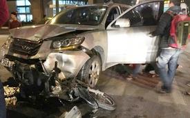 Hà Nội: Hyundai SantaFe gây tai nạn bỏ chạy, đâm thiệt mạng một thiếu nữ