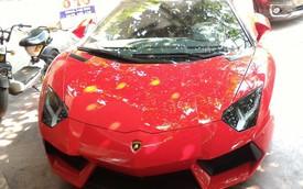 Lamborghini Aventador mui trần đầu tiên lăn bánh ở Hải Phòng