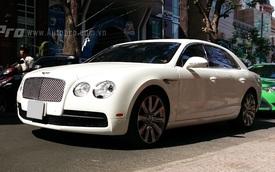 Bắt gặp hàng hiếm Bentley Flying Spur V8 trên phố Sài Thành