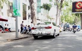 BMW 7-Series mới của thiếu gia Phan Thành ra biển trắng