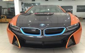 BMW i8 Sài Thành khoác áo mới nổi bật tông màu cam-xám bút chì