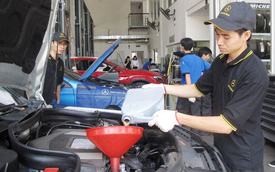 Kiểm tra miễn phí và giảm giá dịch vụ cho Mercedes-Benz C-Class và GLK