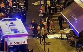 Hiện trường vụ tấn công liên hoàn ở Paris