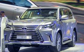 Vẻ ngoài long lanh của Lexus LX570 2016 giá 5,6 tỷ đồng tại Việt Nam