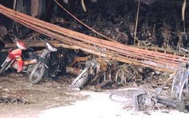 200 xe máy, 1 ôtô bị thiêu rụi trong vụ cháy chung cư