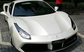 Chưa ra mắt chính thức, Ferrari 488 Spider đã xuất hiện tại Trung Quốc