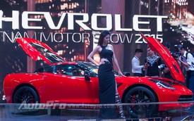 Chevrolet Corvette C7 Stingray - nhân tố bất ngờ tại triển lãm ô tô Việt Nam 2015