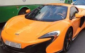 """Đại gia Minh """"Nhựa"""" lái McLaren 650S Spider đi đăng ký biển trắng"""