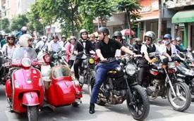 Ngày hội các quý ông lịch thiệp lái motor diễn ra ở Hà Nội