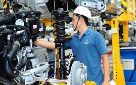 Công nghiệp ô tô dài cổ ngóng cơ chế