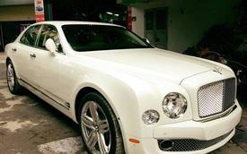 Bentley Mulsanne cùng hàng chục xe phân khối lớn rước dâu tại Hải Phòng