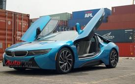 Độc quyền: BMW i8 màu xanh ngọc độc nhất Việt Nam