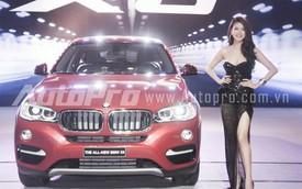 Dàn mỹ nhân bên BMW X6 ngày ra mắt Việt Nam