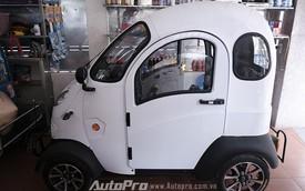 Cận cảnh xe ôtô điện cực rẻ chỉ 65 triệu tại Việt nam