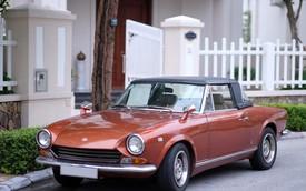 Ngỡ ngàng trước vẻ đẹp xế cổ Fiat 124 Sport Spider gần 50 tuổi tại Hà Thành