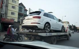 Bắt gặp SUV hạng sang Audi Q7 thế hệ mới tại Hà Nội