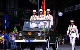 Những hình ảnh đẹp của đoàn diễu hành kỷ niệm 70 năm ngày Quốc Khánh Việt Nam