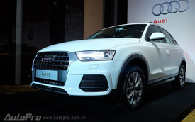 SUV cỡ nhỏ Audi Q3 2015 chính thức chào sân thị trường Việt Nam