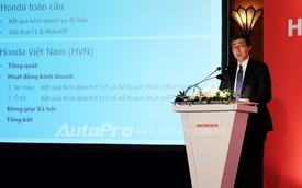 Honda Việt Nam không ra mắt xe mới nào trong năm nay