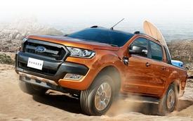 Bán tải Ford Ranger lần đầu lên đỉnh tại Việt Nam
