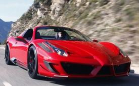 """Đã tai màn """"vận nội công"""" trên phố Monaco của Ferrari 458 Spider độ Mansory"""