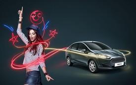 Ford Fiesta sedan thêm bản số tự động giá 566 triệu đồng