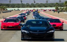 165 chiếc Acura NSX tụ tập mừng sinh nhật lần thứ 25 tại Bắc Mỹ