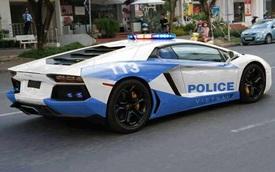 """""""Ảnh chế"""" siêu xe cảnh sát Việt Nam khiến nhiều người """"ngã ngửa"""""""