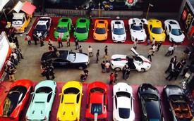 Dàn siêu xe trị giá 100 tỷ đồng tụ tập tại Đài Loan