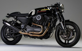 Harley-Davidson XR1200 lột xác với bản độ Café Racer của CRD