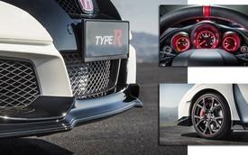Lộ diện những hình ảnh đầu tiên của Honda Civic Type R