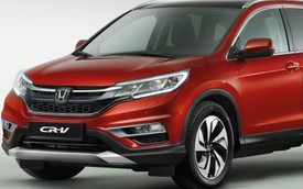 Honda CR-V 2017: Lớn hơn, 7 chỗ ngồi