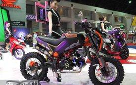 Cặp đôi Honda MSX và Zoomer độ cực chất tại Bangkok