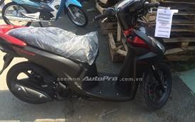 Rò rỉ hình ảnh Honda Vision màu đen nhám hoàn toàn mới tại Việt Nam