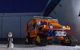 Hai xe Hummer chinh phục hành trình tới Cực Nam Trái Đất
